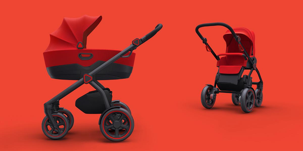 Baby stroller JEDO Trim 2-PB-EXEON
