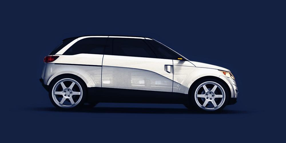 Miejski samochód elektryczny ELV001-EXEON